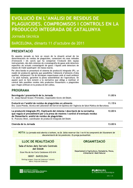 residus plaguicides