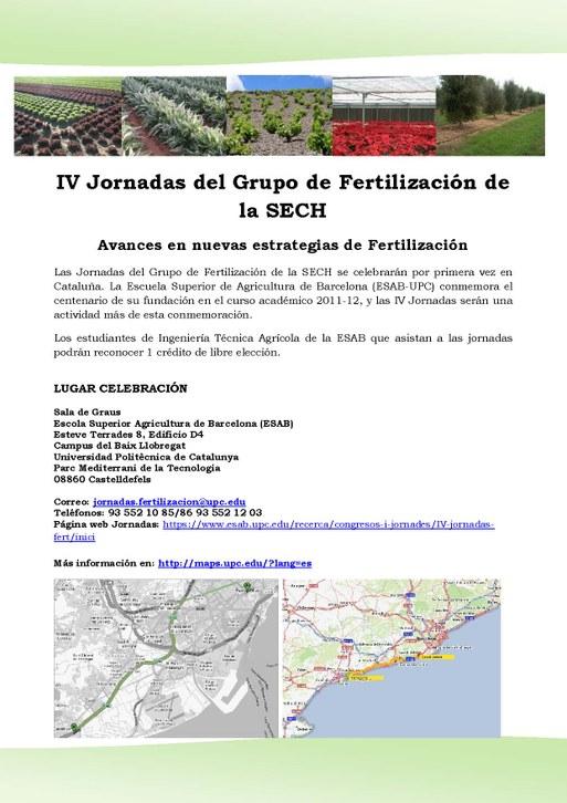 IV Jornada Fertilizacion