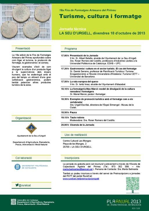 J. Tecnica Fira formatges artesans 2013