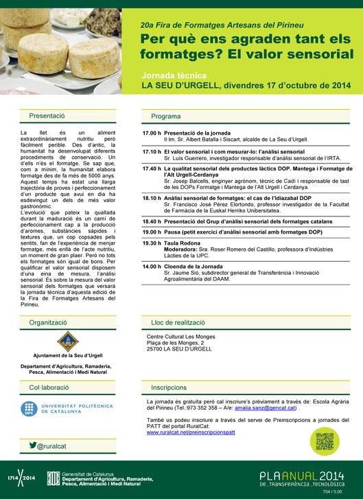 Jornada tecnica formatges 2014
