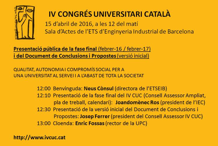 Congres Universitari Catala