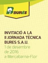 1 de desembre de 2016 - II Jornada Tècnica Burés S.A.U.