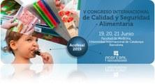 19 a 21 de juny de 2019 -  V Congreso Internacional de Calidad y Seguridad Alimentaria. Acofesal 2019