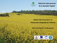 Ciclo de charlas y conferencias  - 2020 Año Internacional de la Sanidad Vegetal