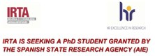 PhD STUDENT GRANTED BY THE SPANISH STATE RESEARCH AGENCY